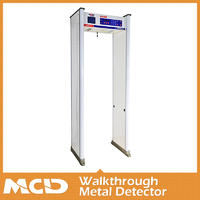 Security Walk Through Metal Detectors Manufacturers For School Door Frame Metal Detector MCD-800A